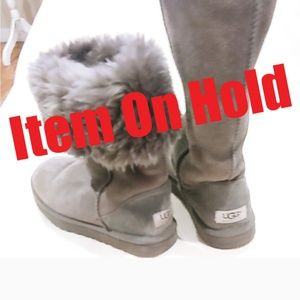 ❗ITEM ON HOLD❗ UGG▪️Classic Tall Gray Boot - SZ 7